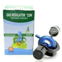 Destec COM 201-M Regulator Gas dengan Meteran