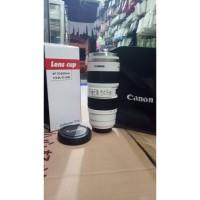 Termos Gelas Mug Lensa Kamera Canon 70-200mm Jumbo Collector TERMOS
