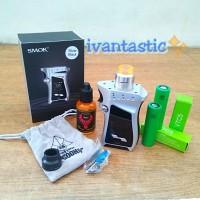 Paket Vape AUTHENTIC SMOK MAG RH TC 225W MOD Goon LP Sony VTC5 Liquid