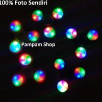 Fidget Hand Finger Spinner LED Lampu Mainan Gasing Bebas Karat Spiner