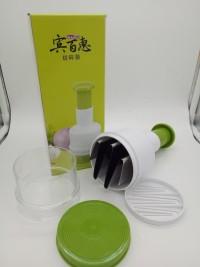 Pengiris Bawang Hand Praktis Anti Air Mata Mudah Slap Chop Kualitas