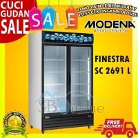 RAMADHAN SALE SC 2691 L MODENA 2 Pintu Showcase Cooler Box