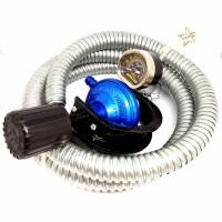 Destec COM 201-MSS Regulator Gas dengan Selang