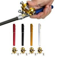Pancingan Pena Mini / Portable Mini Pen Fishing Rod / Joran Pulpen