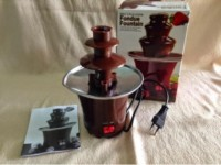 #EC044 - Chocolate Fondue Fountain / Mesin Mini Coklat Air Mancur