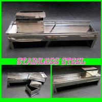 Alat Pemotong Bawang - Alat Pengiris Bawang Manual Stainless Steel