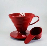 TERBARU Hario V60 Coffee Dripper 02 Red VD-02R