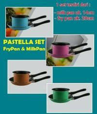 TEFLON + PANCI SPATULA ANTI LENGKET 1 SET ISI 2 PCS