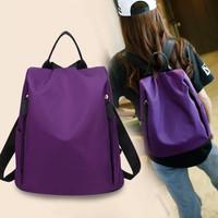 Popular Fashion Women Nylon Backpack Bag / Tas Ransel waterproof J21B