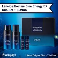 [sarogayo] READY Laneige Homme Blue Energy EX Duo Box Set for Men