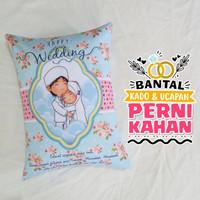 Bantal Kado & Hadiah Pernikahan 30x40cm - Ready - NO PO