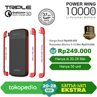 ACMIC Power Wing 10000mAh PowerBank with Triple Quick Charge 3.0