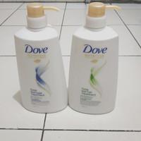 Dove Shampoo Total Hair Fall Treatment 680ml (bisa grab/gojek)