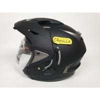 Helm INK T Max / Tmax Double visor Black Dop