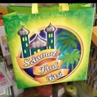 Tas Lebaran Parsel Goodie Bag Spundbond IDUL FITRI Parcel Jumbo