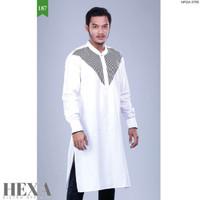 BIG PROMO Baju Muslim Koko Kurta Qurta Pakistan Gamis Pria Putih