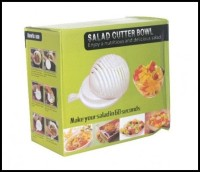 ready Salad Cutter Bowl Mangkok Pemotong Sayur Buah Makanan Serbaguna