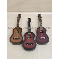 Gitar Mini Acoustic 6 Strings Ukulele Gitar Kecil 6 senar