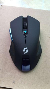 Mouse Wireless Gaming NC-600 black edition 1789Mo Bagus