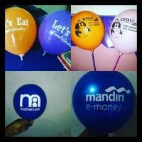 Balon Promosi  Balon Sablon   Balon Print Murah MURAH