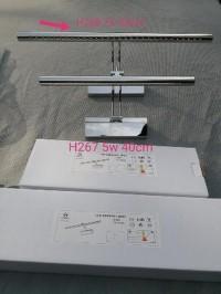 DISKONGILA h268 lampu dinding wastafel led 7w 55cm lampu cermin luki s