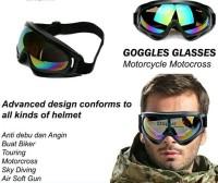 Ternama Kacamata Goggles Outdoor Tactical Lensa Wide Termurah