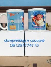 Cetak sablon Mug coating Custom