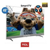 Siap Di Kirim TCL LED Curved 49 Inch Smart TV L49P3CFS Ready 100% Aman