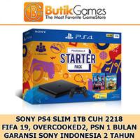 PS4 Slim 1TB Garansi Resmi Sony Indonesia + 1 Game