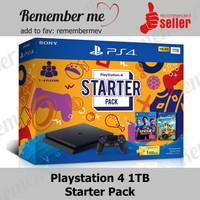 PS4 Slim Starter Pack Garansi SONY Indonesia Playstation 4