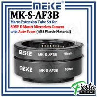 MEIKE MK-S-AF3B Macro Extension Tube Set for Sony E-Mount Mirrorless