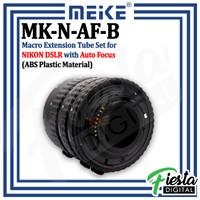 MEIKE MK-N-AF-B Macro AF Extension Tube Set for Nikon DSLR