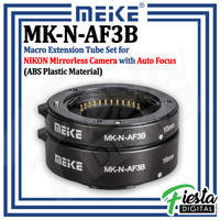 MEIKE MK-N-AF3B Macro AF Extension Tube Set for Nikon Mirrorless