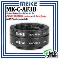 MEIKE MK-C-AF3B Macro AF Extension Tube Set for Canon EOS-M Mirrorless
