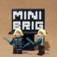 Y1-087 Minifigure Black Widow - Avengers - Lego Compatible
