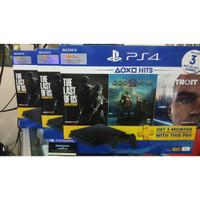 PS4 Slim 1TB Bundle Hits 3 Game - Garansi Resmi Sony Indonesia