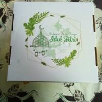Kardus/Karton/Dus/Box Kue Edisi Idul Fitri Uk. 22 * 22 * 18 cm