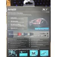BEST SELLER A4TECH X7 F7 3000DPI - OPTICAL MACRO GAMING MOUSE BEST