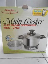TERBARU Multi Cooker panci listrik Maspion MEC 2750 Berkualitas