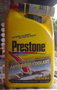 PRESTONE Antifreeze Radiator COOLANT RED - 3.78 ltr - 100 ORIGINA