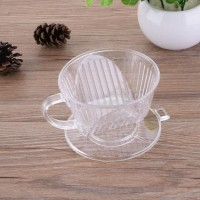 PP RESIN COFFEE FILTER CUP DRIP COFFEE DRIPPER PENYARING KOPI PROMO