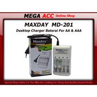Desktop Charger 4 Baterai Recharge AA & AAA
