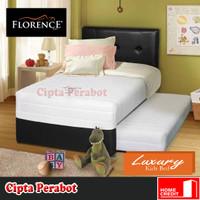Tempat Tidur Anak Bed Dorong Latex Florence Luxury