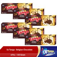 WAFER SO TANGO BELGIAN CHOCOLATE 135GR [ISI 6PCS]