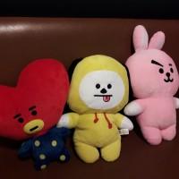 Boneka BT21 Cooky chimmy tata plushie doll BTS