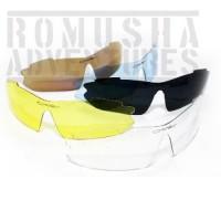 Kacamata Quantum 6 Lensa Gowes Sepeda Motor Airsoft