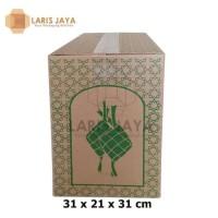 Paling Laris Kardus Coklat / Box Parcel Lebaran / Dus Idul Fitri 31 X