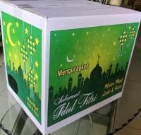 Paling Murah Kardus Motif Nuansa Lebaran Parcel Paket Idul Fitri