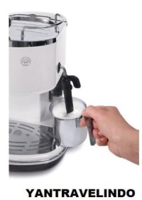 MESIN KOPI ESPRESSO & COFFE MAKER DELONGHI ECO 310 CAPUCCINO MILK