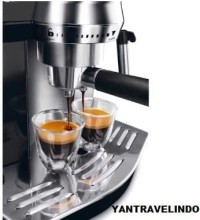 MESIN KOPI ESPRESSO MACHINE COFFE DELONGHI EC 820 MILK FROTHER SAFE